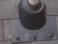 Kennesaw's Best Gutter Cleaners' Certainteed Certified roofers can replace your cracked and rotted vent boots.