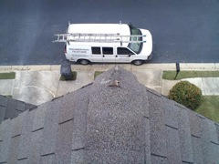Kennesaw's Best Gutter Cleaners' Certainteed Certified roofers can replace cracked ridgecaps.
