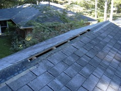 Kennesaw's Best Gutter Cleaners' Certainteed Certified roofers can install or replace your ridge vents.