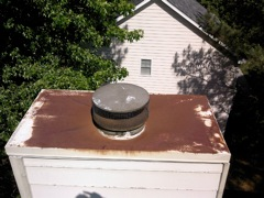 Kennesaw's Best Gutter Cleaners' Certainteed Certified roofers can install or replace your custom chimney pan.